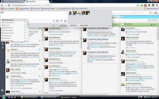 Hootesuite screenshot