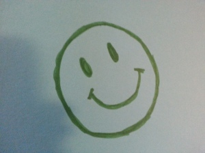 Happy Smiley Customer Face